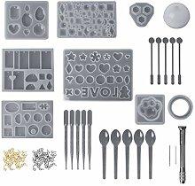 Huafi 1 Satz Epoxidharz Kit Professionelle DIY