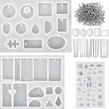 Huafi 1 Satz Handgemachte Silikonform Materialien