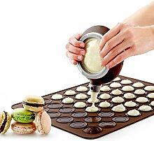 Huafi Silikon Macaron Mat Cupcake Kekse Muffin
