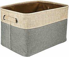 HuaForCity Aufbewahrungsbox Stoff Bad Wäsche