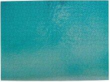 huagu Puzzle 500 Teile,Luftbild Ruhiges Meerwasser