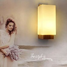 HUANGDA Wandlampe LED dekorative Wandlampe E27 mit