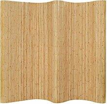 HUANGDANSP Raumteiler Bambus 250x165 cm