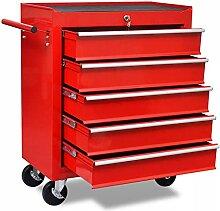 HUANGDANSP Roter Werkstattwagen 5