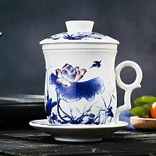 Huanglong Teetasse/Untertassen-Set, chinesisches