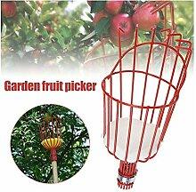 HUANGRONG Obstpflücker Basket Catcher
