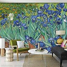 HUANGYAHUI Tapeten, Sofa, Schlafzimmer, Wohnzimmer, Tv Hintergrund Mauer, Europäischen Stil Tapete-300Cmx210Cm
