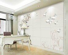 HUANGYAHUI Wandbilder 3D Stereo Wallpaper Wandbild