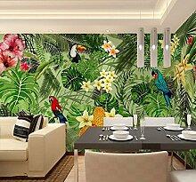 HUANGYAHUI Wandbilder 3D Tropical Rainforest Cafe