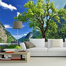 HUANGYAHUI Wandbilder Blauer Himmel, grünes
