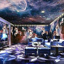 HUANGYAHUI Wandbilder Ein Großes Wandbild Himmel