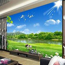 HUANGYAHUI Wandbilder Einfache 3D 5D Wandmalerei