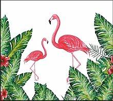 HUANGYAHUI Wandbilder Flamingo Tropischen