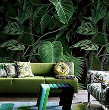 HUANGYAHUI Wandbilder Grüne Pflanzen Wallpaper