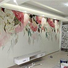 HUANGYAHUI Wandbilder Pastorale Blumen Wallpaper