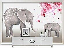 HUANGYAHUI Wandbilder Tapete Kinderzimmer