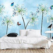HUANGYAHUI Wandbilder Tinte Blume Wallpaper Tv