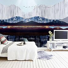 HUANGYAHUI Wandbilder Tv-Wand Abstract Tinte