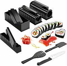 Huanlemai 12-teiliges Sushi-Set zum Selbermachen,