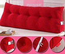 HUANLIN Doppeldreiecks Kissen Kissen Kopfkissen Bett Rückenlehne ( Farbe : # 2 , größe : L )