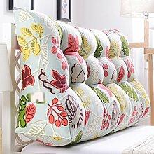 HUANLIN Double Bedside Dreieck Kissen, Kissen, Kissen Taille Kissen Sofa Rückenlehne Soft Case Bett Groß Schützen Sie die Taille 60 * 30 * 70CM ( Farbe : K , größe : 60*30*90CM )