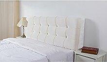 HUANLIN Europäische Tuch Nacht Soft Paket Bedside Kissen Große Rückenpolster Bett Kissen Nacht Kissen Lange Kissen ( Farbe : #5 , größe : 125*59cm )