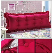 HUANLIN Günstige Baumwolle Bett großes Kissen Bett Rückenlehne Kissen Paar Doppel Kissen gepolstert ( Farbe : #8 , größe : 1.2m )