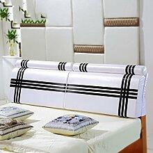 HUANLIN Nachtkissen Soft Case Lange Rücken Dicke Stoff weiche Rücken Schwamm Bett Jacke ( stil : # 9 )