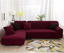 HUANXA Plüsch Elastische Sofabezug, Verdicken