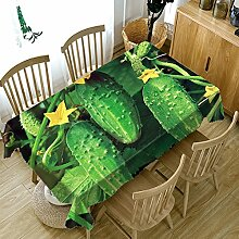 HUANZI A Tischdecken Polyester Rechteckige