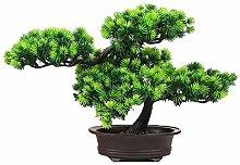 HUAPENLL Künstlich Bonsai Baum, Künstlich