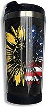huatongxin USA American Flag Sunflower
