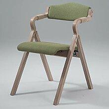 Huayao Vintage Solid Wood Dining Chair Faltstuhl