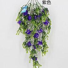 HUAYIFANG Blumen Und Pflanzen Sind In Künstliche Blumen Sind Narzissen Emulation Pflanze Lila