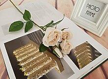 HUAYIFANG Das Hotel Dekoration Dekorativ Blume Blüte Kleine Simulation Home Ausstattung Valentine Hotel Dekoration, Herbst Weiß