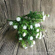 HUAYIFANG Die Simulation Und Emulation Blumenschmuck Home Zubehör Nehmen Sie Seide Blumen Blumen Blumen Requisiten Emulation Blume Weiß