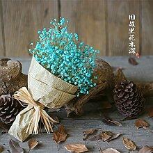 HUAYIFANG Frische Heimtextilien Dekoratives Mantianxing Blume Simulation Von Künstlichen Blumen, Lila Blumenstrauß