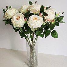 HUAYIFANG Heimtextilien Ornamente Mit Zwei Rose