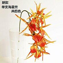 HUAYIFANG Heimtextilien Schmuck Simulation Kreative Blumen Gemüse Simulation, Orange Gelb