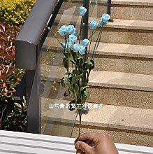 HUAYIFANG Home Dekoration Blumen Blume Rose Simulation Simulation Home Hochzeit Dekoration, Mit Stephanandra Farbe