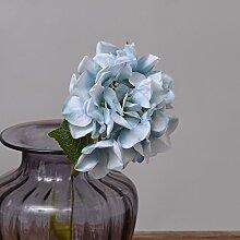 HUAYIFANG Home Dekorationen Kleiner Stickerei Ball Emulation Pflanze Blumen Home Hochzeit Blau