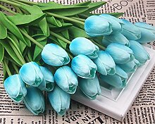 HUAYIFANG Künstliche Blume Mini Tulpe Blume