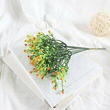 HUAYIFANG Künstliche Blumen Gras blumenstrauß