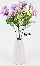 HUAYIFANG Pflanze Blumen Stempel Plastikblumen