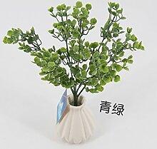 HUAYIFANG Plastikblumen Simulation Blume Glitzernd