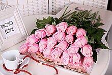 HUAYIFANG Simulation Rose, Rose Home Dekoration Blumen, Rosa
