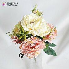 HUAYIFANG Simulation Und Emulation Blumen Herbst Blumen 11 - Lila Home Dekoration Blau
