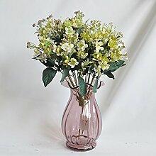 HUAYIFANGBraut Holding Blume Flower Bouquet 12