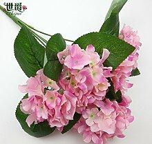 HUAYIFANGDer Wedding Bouquet 45 Cm Heimtextilien
