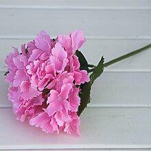 HUAYIFANGSingle Brautstrauß Blumen Hortensie